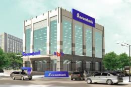 Sacombank được chấp thuận thành lập chi nhánh tại 4 tỉnh phía Bắc