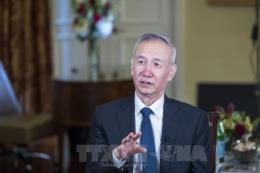Phó Thủ tướng Trung Quốc Lưu Hạc thảo luận với đại diện giới công thương Mỹ