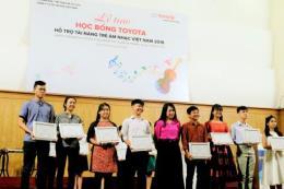 Toyota trao học bổng hỗ trợ tài năng trẻ âm nhạc Việt Nam
