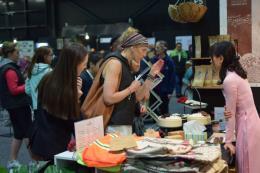 Giới thiệu gạo hữu cơ Việt Nam tại Hội chợ Go Green Expo 2018