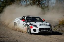 Jaguar ra mắt hai mẫu xe F-TYPE mui trần loại xe đua việt dã