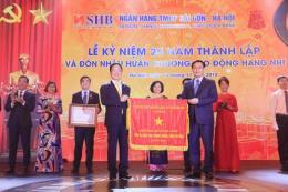 SHB đón nhận Huân chương Lao động hạng Nhì lần thứ hai