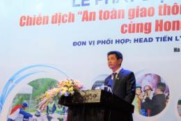 Honda phát động chiến dịch an toàn giao thông lần thứ 3 ở Hà Nam