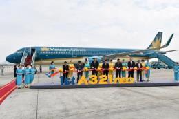 Vietnam Airlines đón máy bay thế hệ mới A321neo