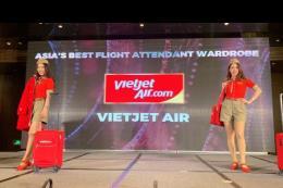"""Vietjet Air được vinh danh """"Đồng phục tiếp viên đẹp nhất châu Á"""" 2018"""