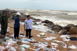 Đêm nay, tâm bão số 9 ngay trên vùng biển các tỉnh từ Bình Thuận đến Bến Tre