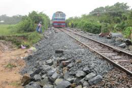 Đường sắt Bắc – Nam thông tuyến sau gián đoạn do ảnh hưởng bão số 9