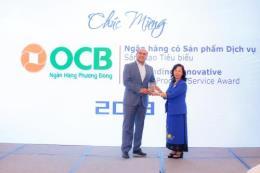 OCB vinh dự nhận được Giải Ngân hàng Việt Nam tiêu biểu 2018