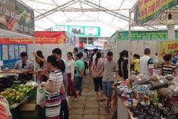 Khai mạc Hội chợ công thương khu vực Đồng bằng sông Hồng - Vĩnh Phúc 2018.
