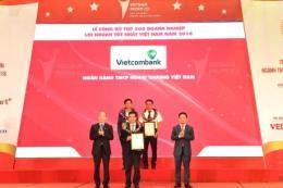 Vietcombank dẫn đầu các ngân hàng trong top 10 doanh nghiệp lợi nhuận tốt nhất Việt Nam