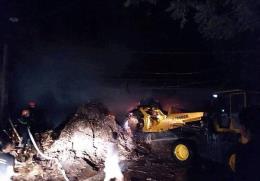 Thanh Hoá: Cháy xưởng sản xuất tăm hương thiệt hại nhiều tỷ đồng