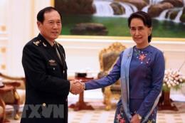 Trung Quốc và Myanmar tăng cường quan hệ song phương