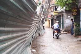 Rà soát lại dự án quy hoạch sử dụng đất phường Ô Chợ Dừa - Hà Nội