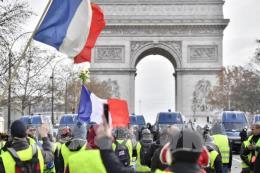 Pháp bắt giữ hơn 1.700 đối tượng trong đợt biểu tình thứ tư