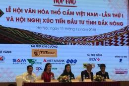 Lễ hội văn hóa thổ cẩm Việt Nam sẽ diễn ra từ ngày 5-7/1