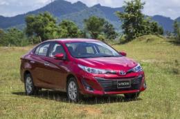 Doanh số bán xe của Toyota Việt Nam tăng 38%