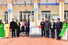 Vietcombank tài trợ 4,5 tỷ đồng xây dựng trường mầm non ở Ninh Bình
