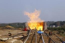 Khai thác khí đốt từ trầm tích núi lửa ở Trung Quốc