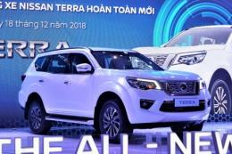 SUV Nissan Terra với hàng loạt công nghệ thông minh có giá từ 988 triệu