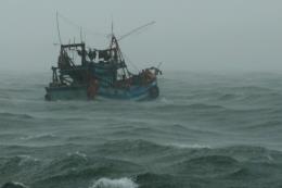 Vùng biển từ Quảng Trị đến Quảng Ngãi gió giật cấp 9, biển động rất mạnh