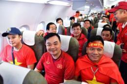 Masan đồng hành cùng Vietnam Airlines đưa cổ động viên cổ vũ đội tuyển Việt Nam