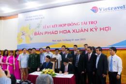 Vietravel tài trợ tỉnh Thừa Thiên Huế 1 tỷ đồng bắn pháo hoa dịp Tết