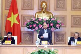 Thủ tướng Nguyễn Xuân Phúc chủ trì phiên họp thứ 2 của Tiểu ban Kinh tế xã hội