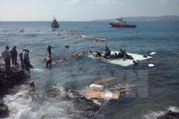 Đắm thuyền hơi chở 120 người trên Địa Trung Hải