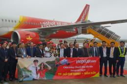 Vietjet Air khai trương đường bay Tp. Hồ Chí Minh – Vân Đồn