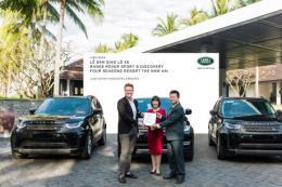 Land Rover Việt Nam bàn giao lô xe cho Four Seasons Resort The Nam Hai