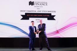 OCB nhận giải thưởng ngân hàng số đột phá năm 2018