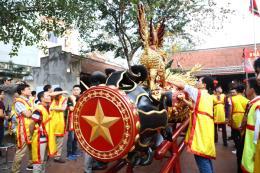 Sôi nổi lễ hội rước pháo Đồng Kỵ, Bắc Ninh