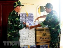 An Giang thu giữ 3.500 gói thuốc lá ngoại nhập lậu