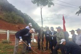 Phát động trồng cây, nâng cao sinh kế cho người trồng rừng