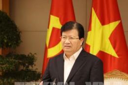 Phó Thủ tướng Trịnh Đình Dũng: Hợp tác tốt hơn để mở rộng thị trường