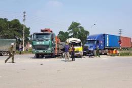Hai nạn nhân tử vong trong vụ tai nạn liên hoàn trên Đại lộ Thăng Long