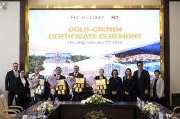 RCI trao chứng nhận Gold Crown cho Tập đoàn FLC