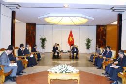Thủ tướng Nguyễn Xuân Phúc tiếp Tổng giám đốc Ngân hàng MUFG