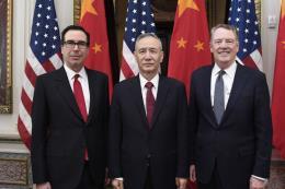 Mỹ -Trung Quốc kết thúc ngày làm việc đầu tiên trong vòng đàm phán thương mại mới