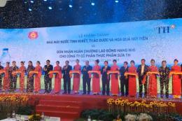 Khánh thành nhà máy sản xuất nước tinh khiết hiện đại tại miền Trung