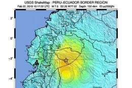 Động đất cường độ 7,7 tại Ecuador