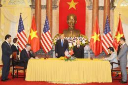 Thượng đỉnh Mỹ-Triều lần 2: Bamboo ký hợp đồng mua 10 máy bay Boeing
