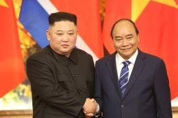 Thủ tướng Nguyễn Xuân phúc hội kiến Chủ tịch Triều Tiên Kim Jong - un