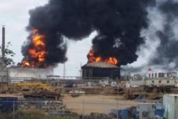 Nổ lớn tại nhà máy xử lý dầu thô nặng của Venezuela