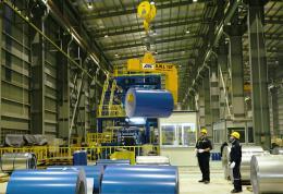 Hòa Phát sắp đưa vào hoạt động dây chuyền thép rút mạ kẽm giai đoạn 2