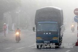 Dự báo thời tiết hôm nay 14/1: Bắc Bộ có mưa phùn, sương mù, trời rét