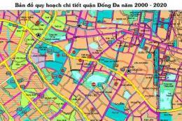 Bản đồ quy hoạch chi tiết quận Đống Đa - Hà Nội