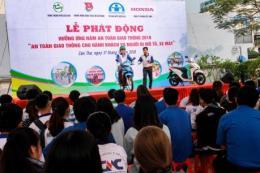 Honda Việt Nam phối hợp phát động năm an toàn giao thông 2019