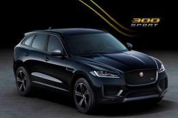 Jaguar bổ sung 2 phiên bản đặc biệt F-Pace 300 Sport và Chequered Flag