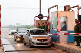 BOT Mỹ Lộc thu phí trở lại sau hơn 7 tháng xả trạm